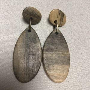 Jewelry - Wood earrings